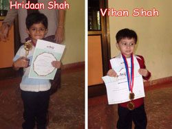 Hridaan and Vihaan Shah 1 1