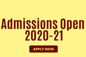 admission open 2020 21